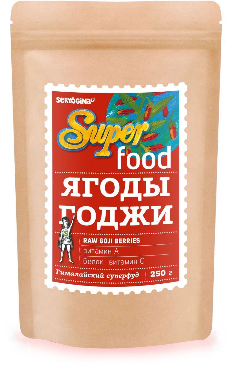 Seryogina Ягоды годжи калибр 180, 250 г4607012297488Самый крупный калибр. Уникальный комплекс полисахаридов, 18 аминокислот (8 - незаменимые), витамины А, С, Е, группы В. Живой (raw, live) продукт.