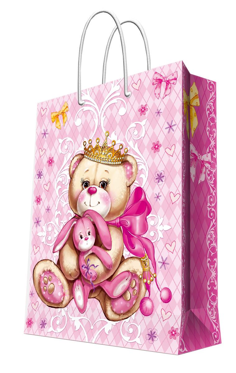 Пакет подарочный Magic Home Принцесса-медведица, 17,8 х 22,9 х 9,8 см697596_010 Кофе в ПарижеПодарочный пакет Magic Home, изготовленный из плотной бумаги, станет незаменимым дополнением к выбранному подарку. Дно изделия укреплено картоном, который позволяет сохранить форму пакета и исключает возможность деформации дна под тяжестью подарка. Пакет выполнен с глянцевой ламинацией, что придает ему прочность, а изображению - яркость и насыщенность цветов. Для удобной переноски имеются две ручки в виде шнурков.Подарок, преподнесенный в оригинальной упаковке, всегда будет самым эффектным и запоминающимся. Окружите близких людей вниманием и заботой, вручив презент в нарядном, праздничном оформлении.Плотность бумаги: 140 г/м2.