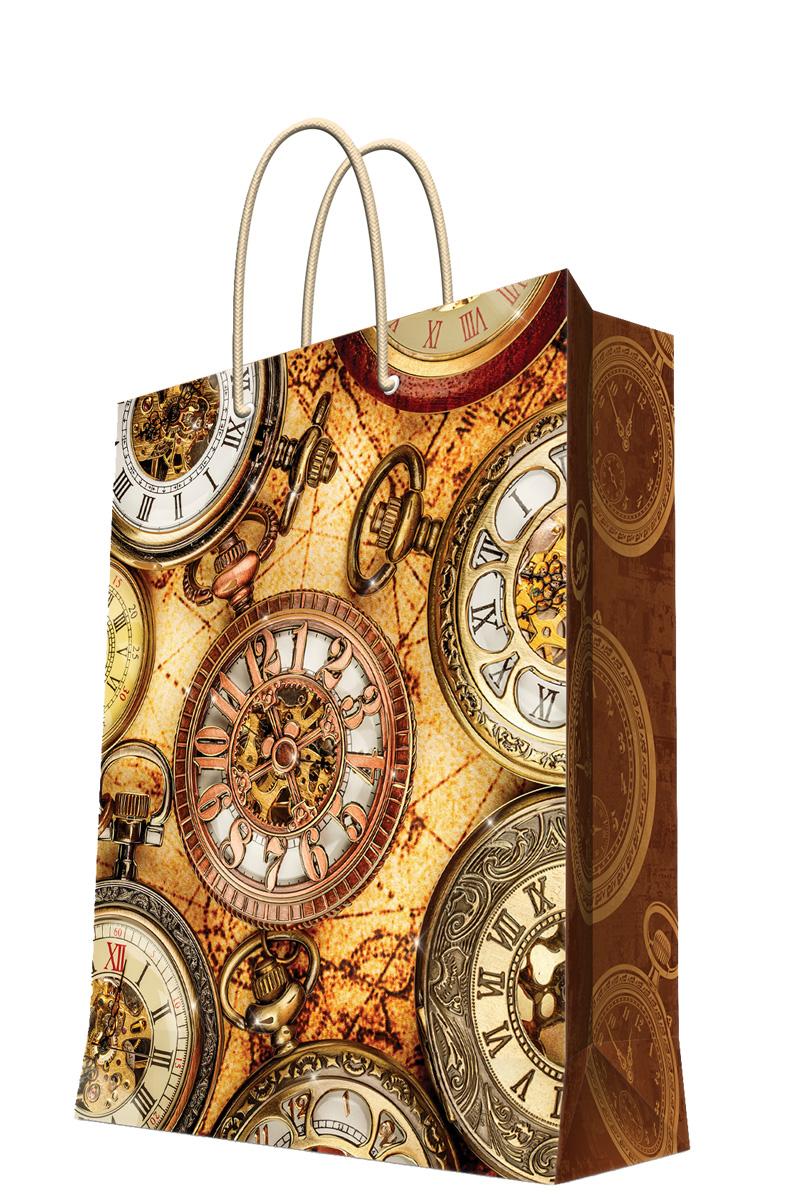 Пакет подарочный Magic Home Хронографы, 26 х 32,4 х 12,7 см44187Подарочный пакет Magic Home, изготовленный из плотной бумаги, станет незаменимым дополнением к выбранному подарку. Дно изделия укреплено картоном, который позволяет сохранить форму пакета и исключает возможность деформации дна под тяжестью подарка. Пакет выполнен с глянцевой ламинацией, что придает ему прочность, а изображению - яркость и насыщенность цветов. Для удобной переноски имеются две ручки в виде шнурков.Подарок, преподнесенный в оригинальной упаковке, всегда будет самым эффектным и запоминающимся. Окружите близких людей вниманием и заботой, вручив презент в нарядном, праздничном оформлении.Плотность бумаги: 140 г/м2.