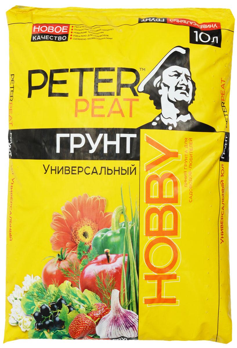 Грунт для растений Peter Peat Универсальный, 10 л0698Грунт Peter Peat Универсальный - это полностью готовый к использованию питательный торфяной грунт. Подходит для выращивания овощных и цветочных культур, комнатных растений, садовых цветов, плодовых деревьев и ягодных кустарников. Грунт способствует лучшей приживаемости растений, повышает урожайность. Грунт Peter Peat Универсальный идеально подходит для садоводов, огородников, дачников, любителей свежих овощей и пышной зелени.