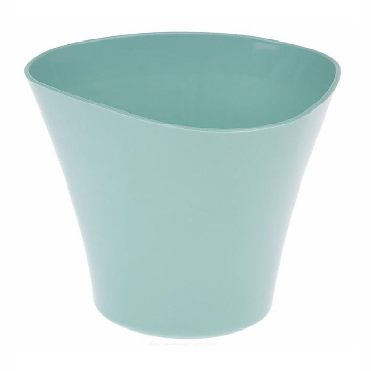 Кашпо JetPlast Волна, цвет: нефритовый, 600 мл531-101Кашпо Волна имеет уникальную форму, сочетающуюся как с классическим, так и с современным дизайном интерьера. Оно изготовлено из прочного полипропилена (пластика) и предназначено для выращивания растений, цветов и трав в домашних условиях. Такое кашпо порадует вас функциональностью, а благодаря лаконичному дизайну впишется в любой интерьер помещения. Объем кашпо: 600 мл.