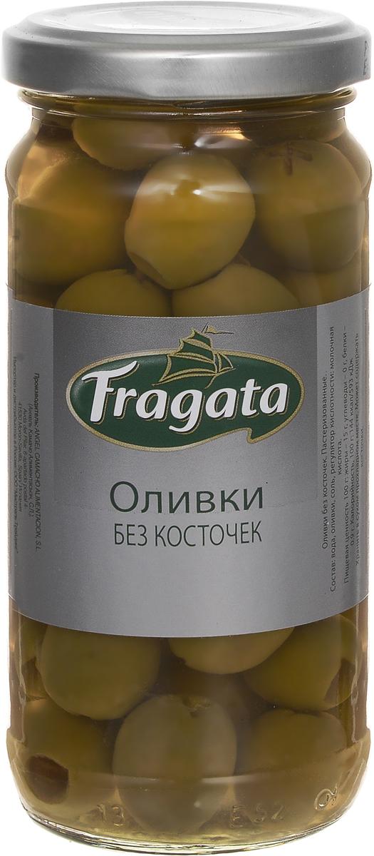 Fragata оливки без косточек, 230 г guerola оливки зеленые годаль калибр 80 100 без косточки 600 г