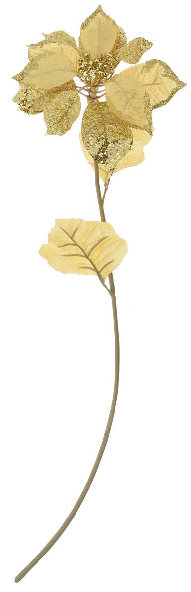 Декоративное украшение Lovemark Пуансеттия, высота 69 смK100Декоративное украшение Lovemark Пуансеттия - великолепный подарок себе и вашим близким, идеально подойдет для декорации интерьера. Изделие выполнено из пластика, полиэстера и металла в виде цветка и декорировано блестками. Такое украшение будет приковывать взгляды ваших гостей.Длина украшения: 69 см.
