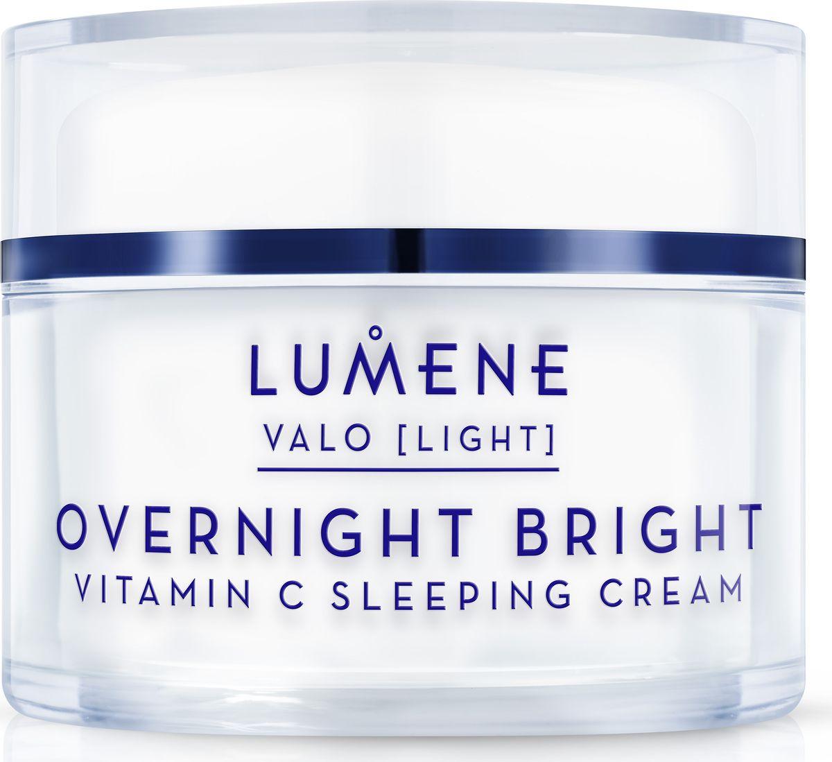 Lumene Valo Восстанавливающий крем-сон Vitamin C, 50 млNL581-80228Ночной крем восстанавливает и глубоко питает кожу,избавляет от следов усталости и эффективно борется с мелкими морщинками.