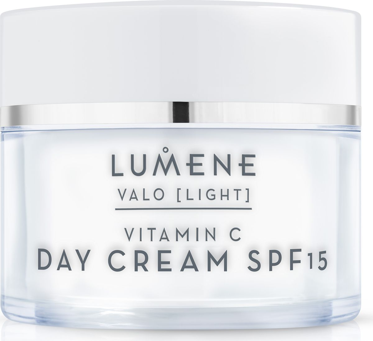 Lumene Valo Дневной крем SPF 15 Vitamin C, 50 мл086-9-37241Дневной крем восстанавливает баланс влаги в коже, улучшает и выравнивает цвет лица, борется с появлением первых признаков старения. Светоотражающие пигменты мгновенно освежают цвет лица. Содержит солнцезащитный фильтр.