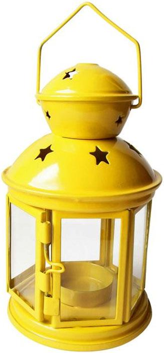 Подсвечник подвесной Bolsius Альтаир, цвет: желтый, 10 х 10 х 17 смБрелок для ключейДекоративный подсвечник Bolsius изготовлен из высококачественного металла и стекла. Он позволит украсить интерьер дома или рабочего кабинета оригинальным образом. Вы можете поставить или подвесить подсвечник в любом месте, где он будет удачно смотреться и радовать глаз. Кроме того - это отличный вариант подарка для ваших близких и друзей.