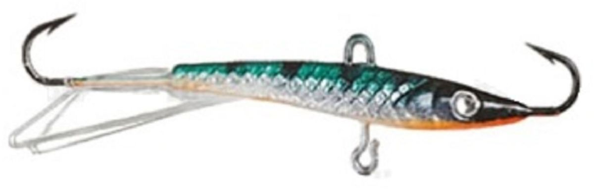 Балансир Finnex. Swarovski, длина 8 см, вес 15 г. BLS-08-MST59422Балансир Finnex. Swarovski удлиненной формы с игрой широкого радиуса и наклонами на поворотах, предназначен для ловли на мелководье и в стоячей воде, в основном для ловли окуня. Форма этого балансира напоминает мелкую рыбку. Балансир оснащен глазком из кристалла Swarovski, что делает его более заметным, что позволяет привлечь рыбу с более дальнего расстояния.