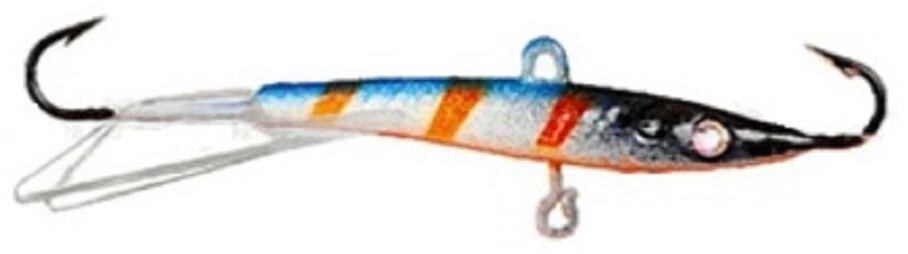 Балансир Finnex. Swarovski, длина 8 см, вес 15 г. BLS-08-NLOPGPS7797CIS08GBNVБалансир Finnex. Swarovski удлиненной формы с игрой широкого радиуса и наклонами на поворотах, предназначен для ловли на мелководье и в стоячей воде, в основном для ловли окуня. Форма этого балансира напоминает мелкую рыбку. Балансир оснащен глазком из кристалла Swarovski, что делает его более заметным, что позволяет привлечь рыбу с более дальнего расстояния.