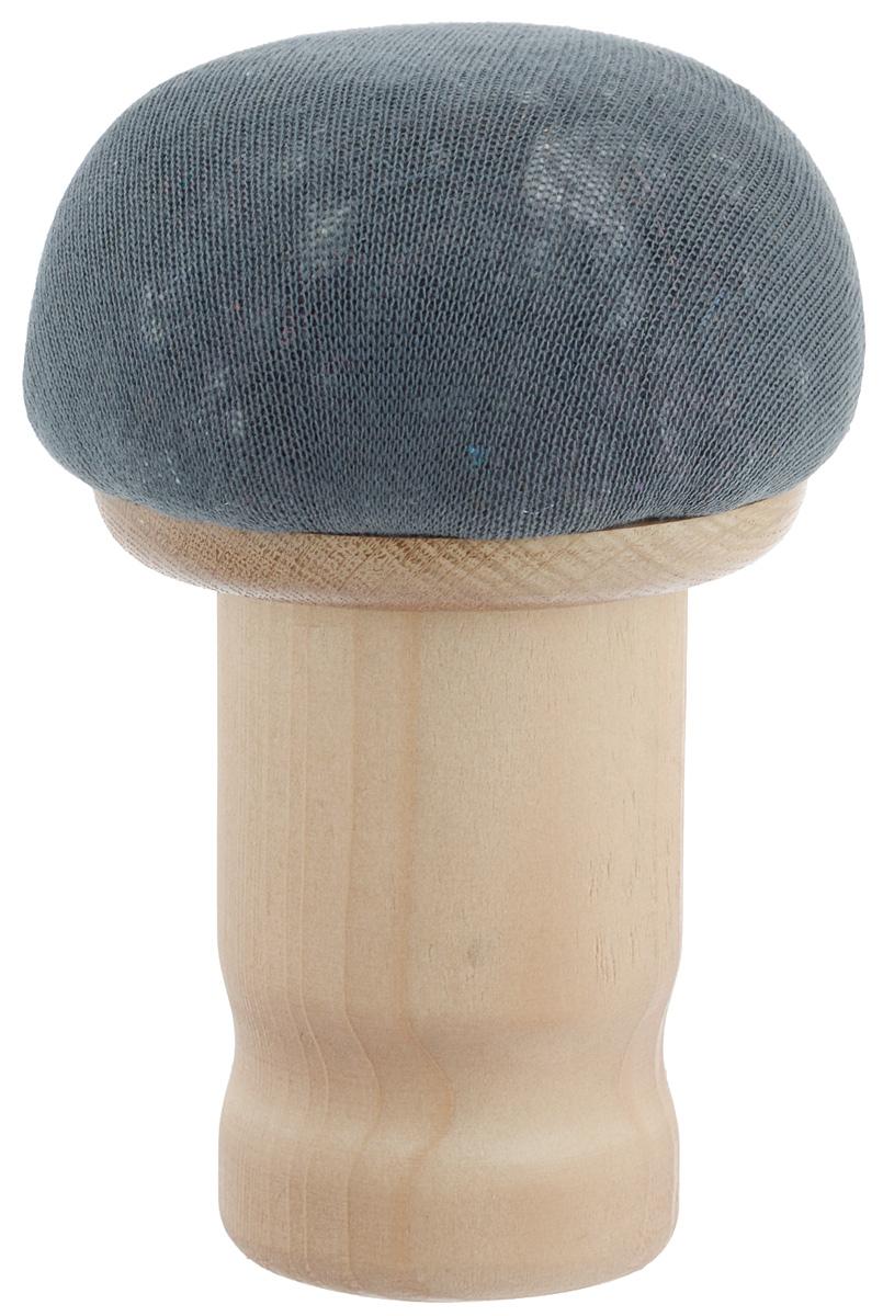 Колодка портновская Грибок стандартный. GR11532GC220/05Портновская колодка Грибок стандартный подходит для утюжки и отпаривания плеч, придания нужной формы воротников, манжет и других деталей одежды. Изделие выполнено из древесины разных пород (хвоя, дуб) и обтянуто трикотажной тканью с накладкой из мягкого ватина.Влажно-тепловая обработка имеет большое значение в улучшении качества швейных изделий и их внешнего вида. Даже кривую строчку в некоторых случаях можно исправить утюгом. Колодка облегчит утюжку в труднодоступных для утюга местах. Кроме того, твердое холодное дерево быстро впитывает пар и охлаждает ткань, способствуя закреплению формы.