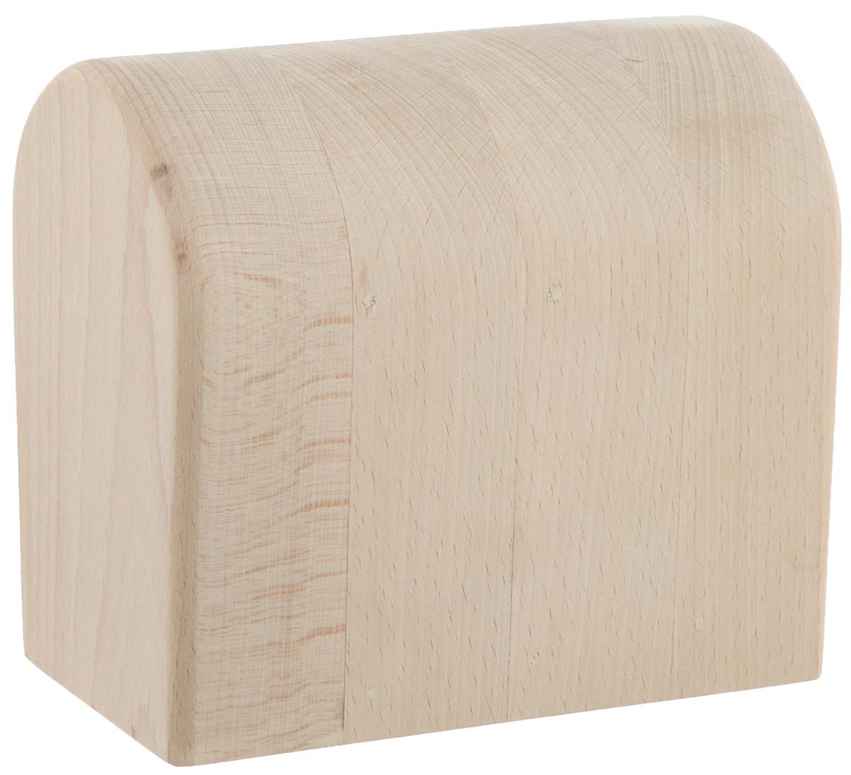 Колодка портновская Окат женский. OK11420GC204/30Портновская колодка Окат женский подходит для глажки манжет, плечевых швов и оката рукава. Изделие выполнено из древесины бука. Влажно-тепловая обработка имеет большое значение в улучшении качества швейных изделий и их внешнего вида. Даже кривую строчку в некоторых случаях можно исправить утюгом. Колодка облегчит утюжку в труднодоступных для утюга местах. Кроме того, твердое холодное дерево быстро впитывает пар и охлаждает ткань, способствуя закреплению формы.