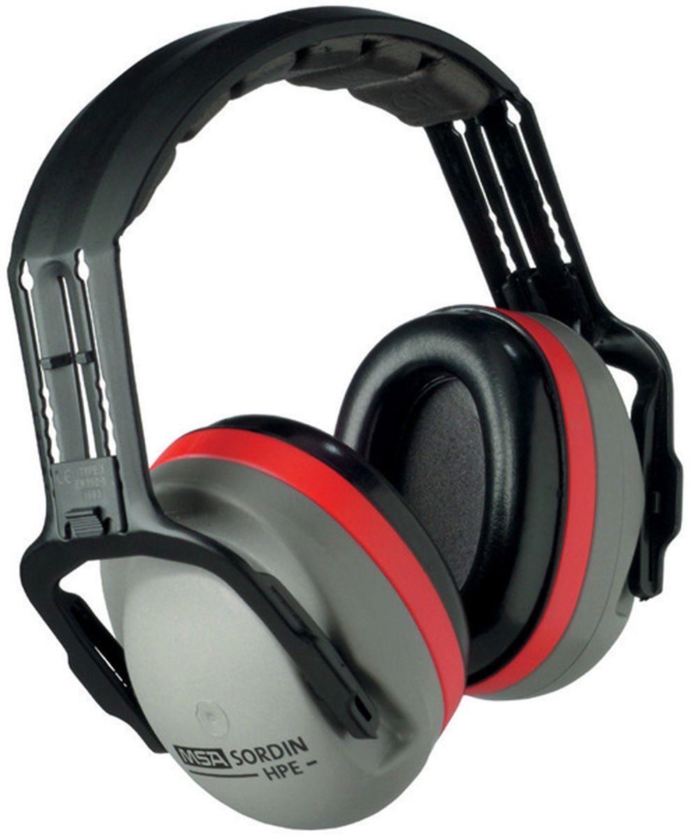 Наушники для стрельбы MSA Sordin HPE, пассивные, стандартное оголовье3B327Эти наушники настолько удобны, что Вы не захотите с ними расставаться! Уникальные литые вкладыши обеспечивают исключительное шумоподавление и максимальный комфорт. HPE пригодны для всех областей применения, требующих защиты органов слуха.EN 352-1, EN 352-3С держателем: акустическая эффективность 27 дБ, В = 31, С = 24, Н = 16