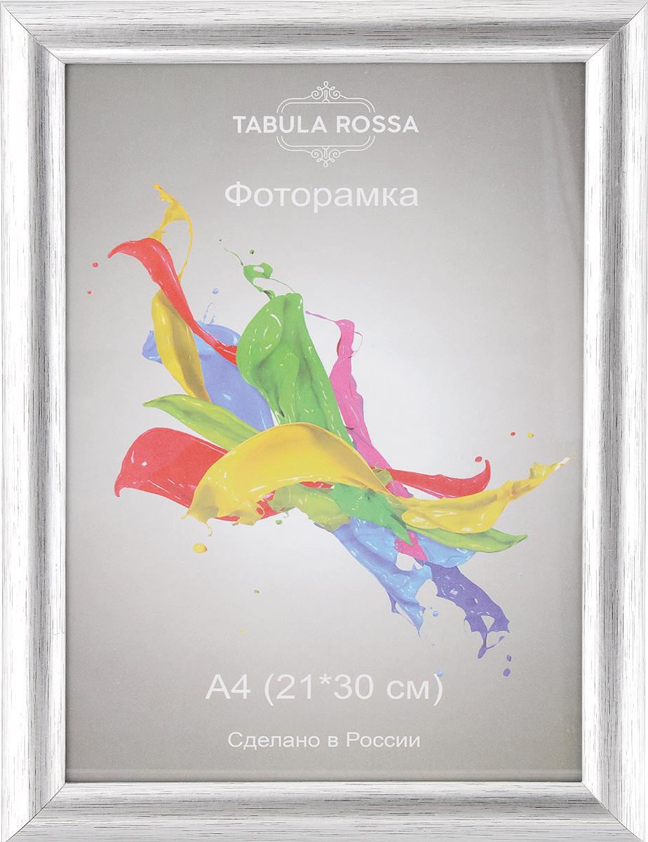 Фоторамка Tabula Rossa Металлик, цвет: серебристый, 21 х 30 см фоторамка tabula rossa металлик цвет серебристый 21 х 30 см