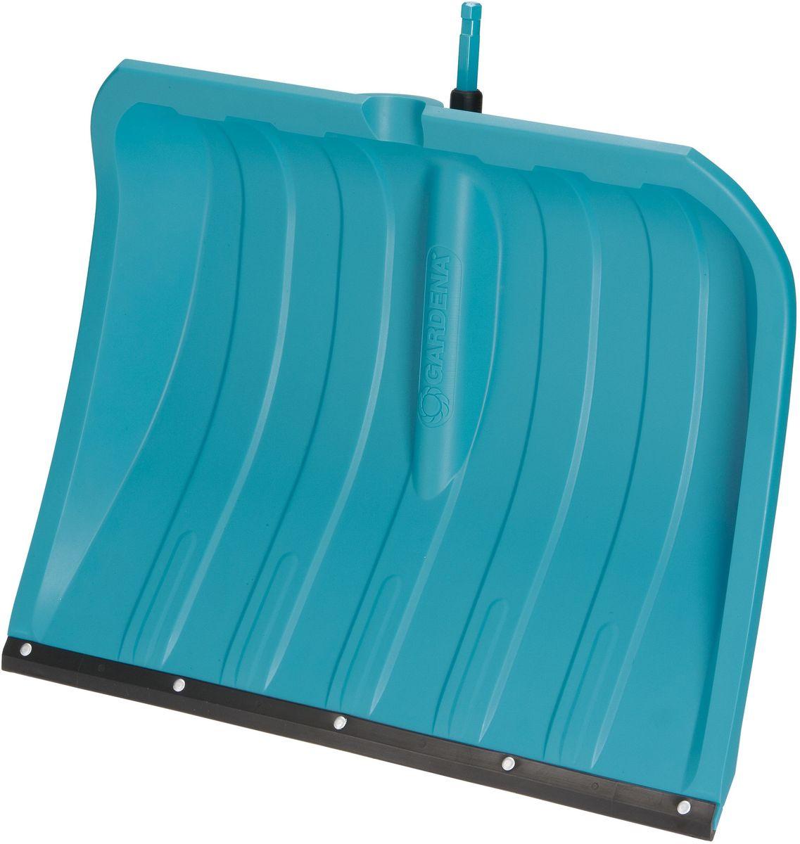 Лопата для уборки снега Gardena, со съемной ручкой, ширина 50 см. 07832-20.000.00531-402Лопата для уборки снега Gardena - это удобный и легкий инструмент, предназначенный для уборки снега. Пластиковая кромка не повреждает обрабатываемую поверхность. Оптимальный угол наклона полотна для эффективной работы.Изделие оснащено съемной ручкой Gardena, выполненной из ясеня и алюминия. Конструкция ручки включает в себя стопорный винт, благодаря которому достигается надежная фиксация инструмента. Форма ручки в виде конуса облегчает использование ручки во время работы и предотвращает ее выскальзывание.Длина ручки: 150 см.Ширина рабочей части лопаты: 50 см.
