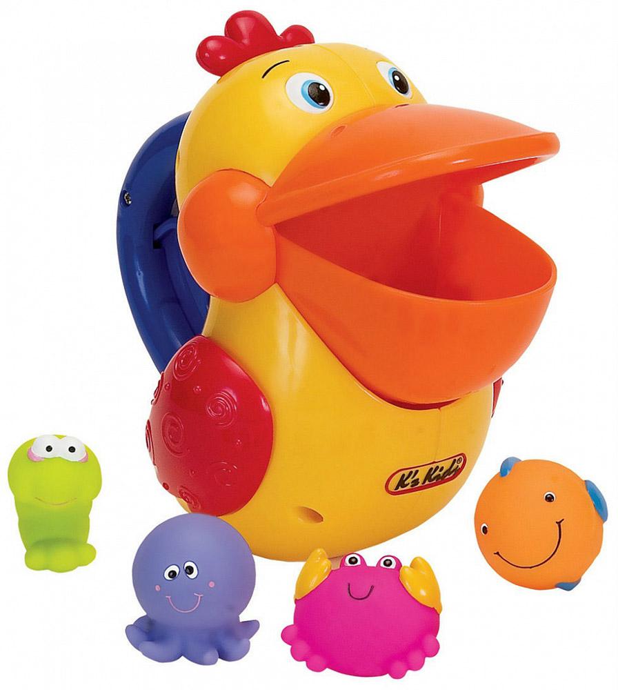 Ks Kids Игровой набор для ванны Голодный пеликан