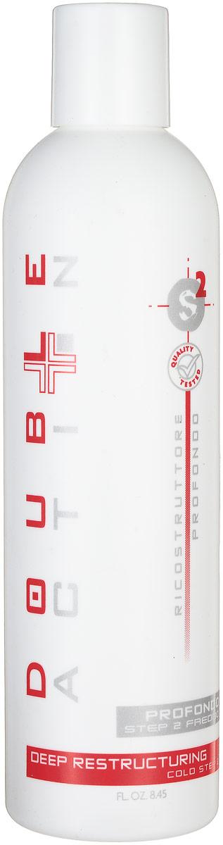 Hair Company Регенерирующее средство холодной фазы Double Action Ricostruttore Profondo Step 2 Freddo 250 млSatin Hair 7 BR730MNРегенерирующее средство холодной фазы Hair Company Double Action Ricostruttore Profondo Step 2 Freddo Холодная регенерирующая фаза, обладает вяжущим и восстанавливающим действием. Великолепно выглаживает структуру и смыкает чешуйки, тем самым, делая поверхность кутикулы более сильной и плотной. Обволакивает волос мембранной пленкой. Миристаты в составе продукта служат для смягчения, модифицированные фруктовые кислоты кондиционируют и придают дополнительный блеск, кератин восстанавливает и добавляет эластичность. Результат: упругие и блестящие волосы с полностью восстановленной структурой.