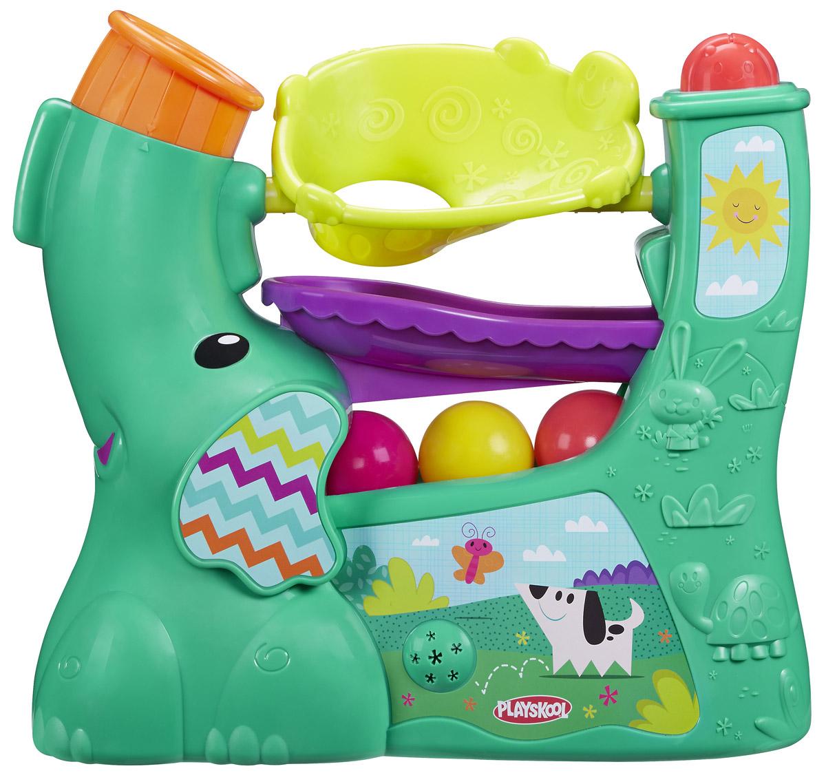 Playskool Развивающая игрушка Веселый слоник learning journey развивающая игрушка веселый слоник