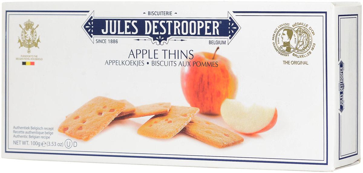 Destrooper печенье с яблоками, 100 г12569_собакиDestrooper - превосходное песочное печение с кусочками яблока из Нормандии. Его вкус понравится вам и вашим близким.Уважаемые клиенты! Обращаем ваше внимание, что полный перечень состава продукта представлен на дополнительном изображении.