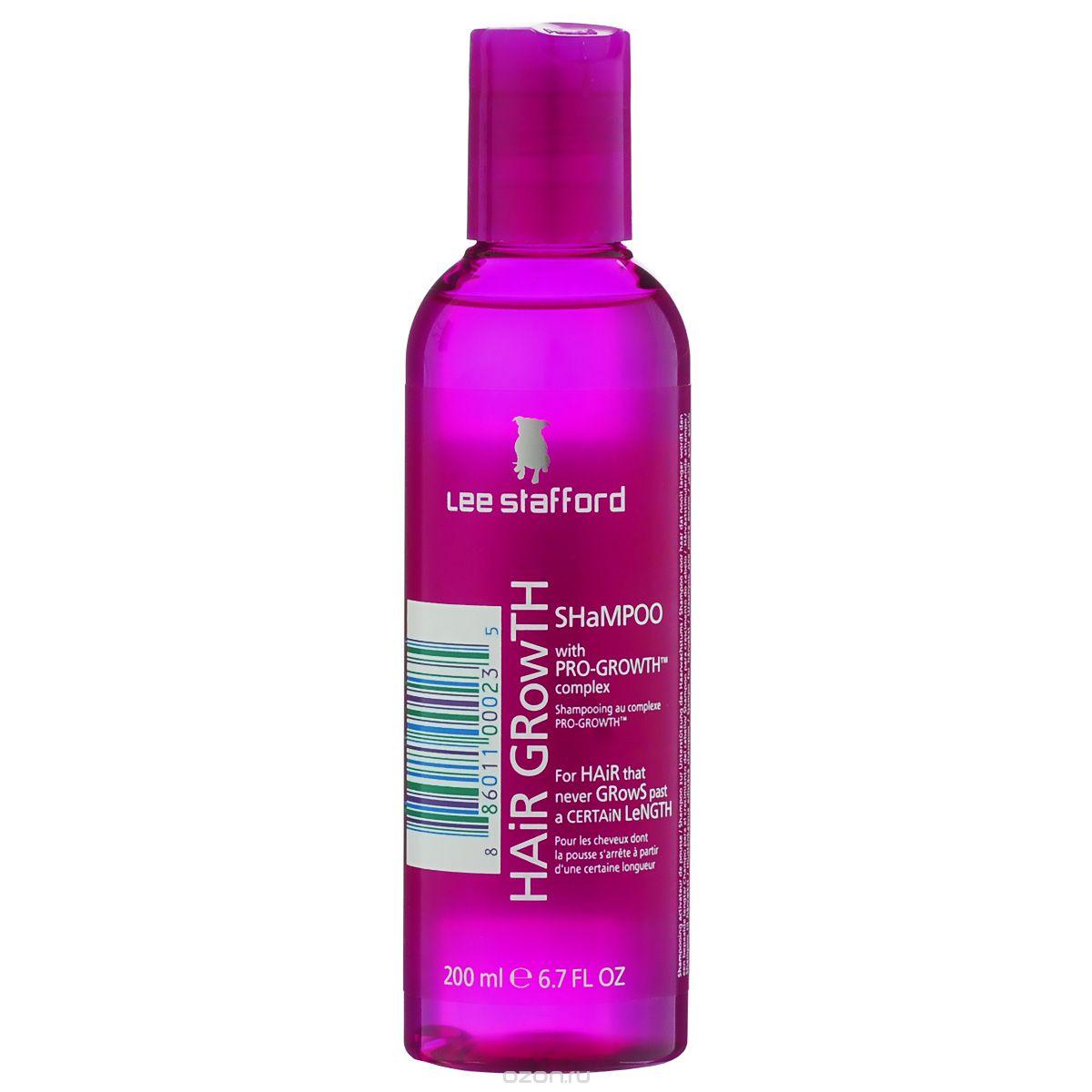 Lee Stafford Шампунь для роста волос Hair Growth, 200 млFS-00897200118 Lee Stafford Шампунь для роста волос Hair Growth Shampoo, 200 мл. Оказывает стимулирующее воздействие на кожу головы и корни волос, улучшает их состояние и придает объем.
