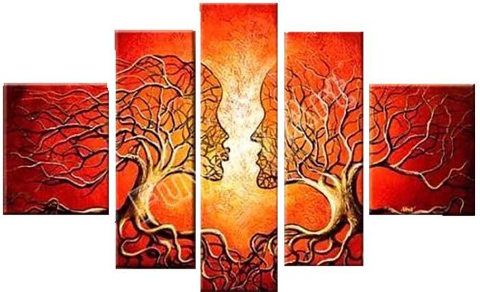 Картина Арт78 Деревья, модульная, 140 см х 80 см. арт780004-2PM-4023Ничто так не облагораживает интерьер, как хорошая картина. Особенную атмосферу создаст крупное художественное полотно, размеры которого более метра. Подобные произведения искусства, выполненные в традиционной технике (холст, масляные краски), чрезвычайно капризны: требуют сложного ухода, регулярной реставрации, особого микроклимата – поэтому они просто не могут существовать в условиях обычной городской квартиры или загородного коттеджа, и требуют больших затрат. Данное полотно идеально приспособлено для создания изысканной обстановки именно у Вас. Это полотно создано с использованием как традиционных натуральных материалов (холст, подрамник - сосна), так и материалов нового поколения – краски, фактурный гель (придающий картине внешний вид масляной живописи, и защищающий ее от внешнего воздействия). Благодаря такой композиции, картина выглядит абсолютно естественно, и отличить ее от традиционной техники может только специалист. Но при этом изображение отлично смотрится с любого расстояния, под любым углом и при любом освещении. Картина не выцветает, хорошо переносит даже повышенный уровень влажности. При необходимости ее можно протереть сухой салфеткой из мягкой ткани.