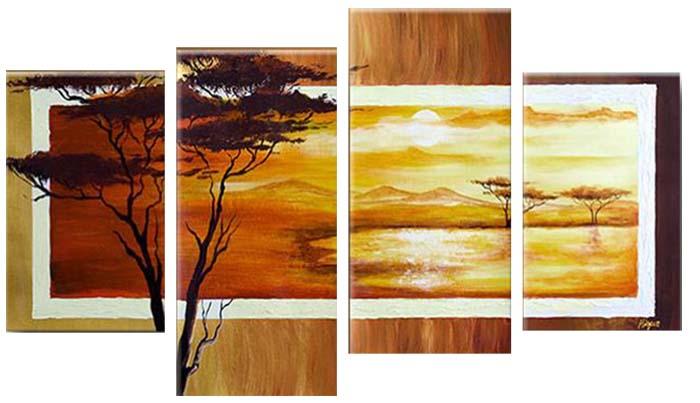 Картина Арт78 Природа, модульная, 180 см х 120 см. арт780021PM-6002Ничто так не облагораживает интерьер, как хорошая картина. Особенную атмосферу создаст крупное художественное полотно, размеры которого более метра. Подобные произведения искусства, выполненные в традиционной технике (холст, масляные краски), чрезвычайно капризны: требуют сложного ухода, регулярной реставрации, особого микроклимата – поэтому они просто не могут существовать в условиях обычной городской квартиры или загородного коттеджа, и требуют больших затрат. Данное полотно идеально приспособлено для создания изысканной обстановки именно у Вас. Это полотно создано с использованием как традиционных натуральных материалов (холст, подрамник - сосна), так и материалов нового поколения – краски, фактурный гель (придающий картине внешний вид масляной живописи, и защищающий ее от внешнего воздействия). Благодаря такой композиции, картина выглядит абсолютно естественно, и отличить ее от традиционной техники может только специалист. Но при этом изображение отлично смотрится с любого расстояния, под любым углом и при любом освещении. Картина не выцветает, хорошо переносит даже повышенный уровень влажности. При необходимости ее можно протереть сухой салфеткой из мягкой ткани.