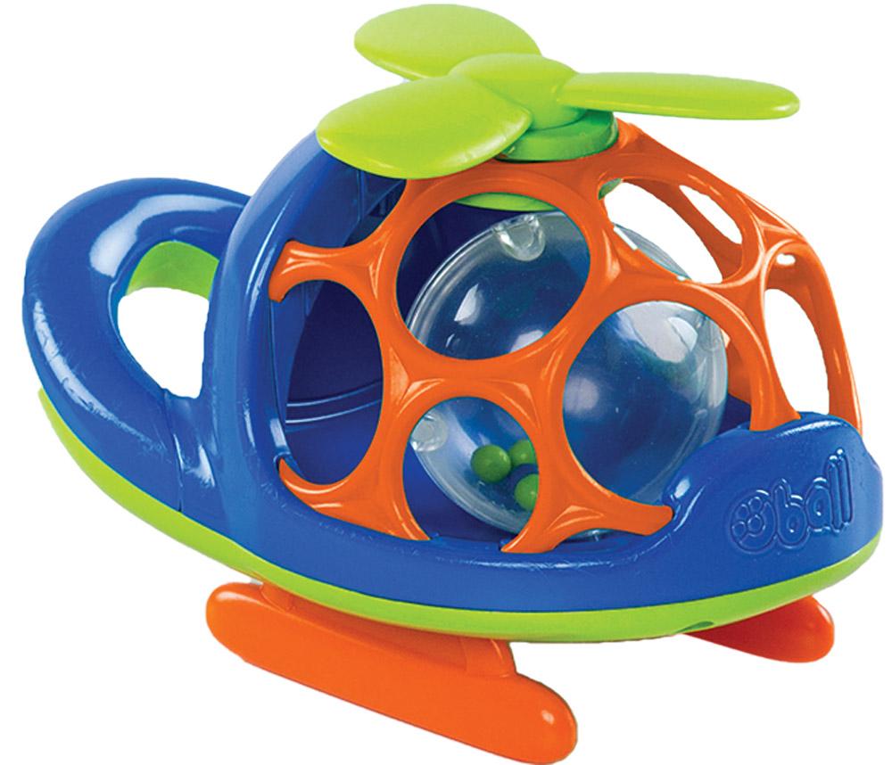Oball Вертолет цвет синий - Транспорт, машинки