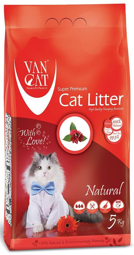 Наполнитель для кошачьих туалетов Van Cat Натуральный, комкующийся, без пыли, 5 кг0120710Наполнитель для кошачьего туалета Van Cat Натуральный эффективно устраняет неприятные запахи. Обладает высокой абсорбцией, отлично комкуется, не пылит, лапы остаются чистыми.Безопасен для животных и окружающей среды. Сохраняет лоток сухим, прост в уборке. Размер гранул: 0,6-2,25 мм. Товар сертифицирован.