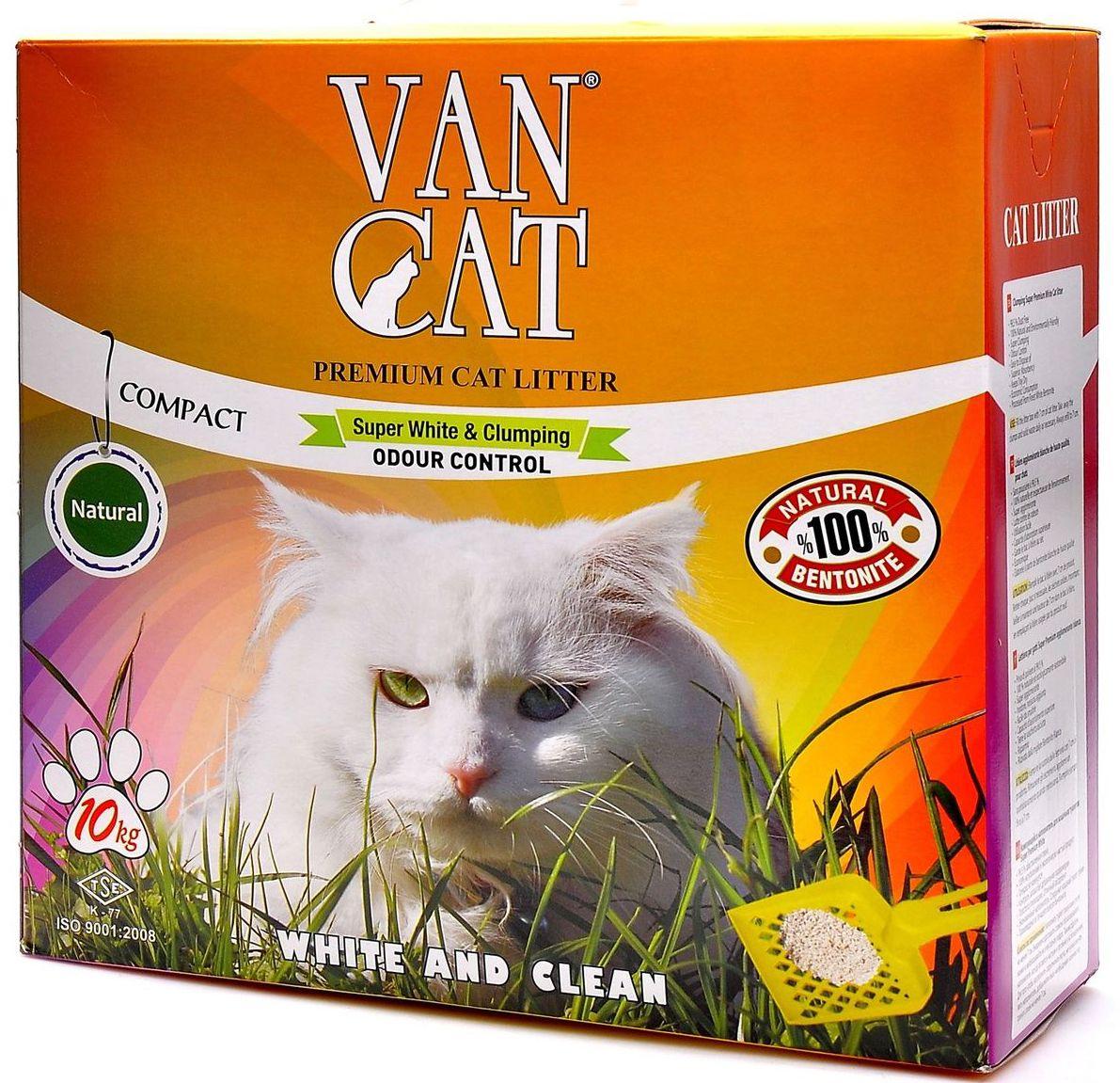 Наполнитель для кошачьих туалетов Van Cat 100% Натуральный, комкующийся, без пыли, 10 кг. 202410120710100% натуральныйБелый цвет – символ чистоты и свежести. Так же белый цвет – это символ здоровья. Как нам контролировать здоровье мочевыделительной системы у кошки наиболее простым способом? Только белый наполнитель для кошачьего туалета дает нам такую возможность. Отлично комкуется Гранулы 0,6-2,25 мм Эффективно устраняет неприятные запахи Не пылит, лапы остаются чистыми Способность к абсорбации 300% Безопасен для животных и окружающей среды Экономичен в использовании Сохраняет лоток сухим, прост в уборкеУдобная картонная упаковка