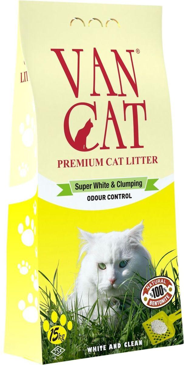Наполнитель для кошачьих туалетов Van Cat, комкующийся, без пыли, для крупных кошек, 15 кг20426Наполнитель для кошачьего туалета Van Cat эффективно устраняет неприятные запахи. Обладает высокой абсорбцией, отлично комкуется, не пылит, лапы остаются чистыми.Безопасен для животных и окружающей среды. Сохраняет лоток сухим, прост в уборке. Размер гранул: 0,6-2,25 мм. Товар сертифицирован.