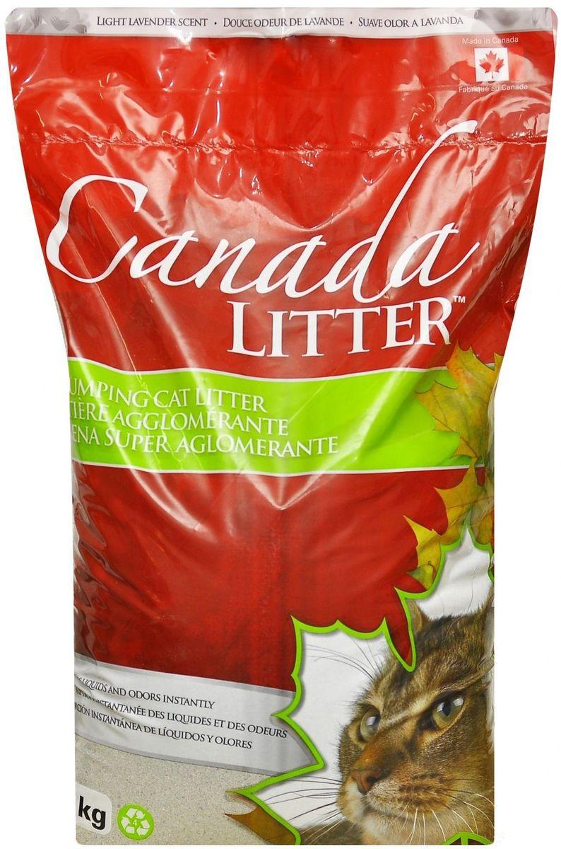 Наполнитель для кошачьих туалетов Canada Litter Запах на Замке, комкующийся, с ароматом лаванды, 12 кг0120710Комкующийся наполнитель Canada Litter - канадский наполнитель супер-премиум класса.Наполнитель Canada Litter Запах на замке изготовлен из натриевого бентонита и производится в Канаде. Наполнитель впитывает 350% влаги (в 3,5 раза больше собственного веса).Специальные гранулы напоминают кошке ее естественную среду.Обладает высокой впитывающей и комкующей способностью.Результат заметен мгновенно – при увлажнении сразу образуется плотный комочек.Мягкий приятный аромат лаванды, едва заметный для кошки, устраняет и контролирует запах. Инструкция по применению: 1. Наполните чистый лоток кошачьего туалета Комкующимся наполнителем Canada Litter слоем в 10-12 см. 2. Ежедневно удаляйте совком образовавшиеся комочки. 3. Добавляйте необходимое количество наполнителя, чтобы восполнить содержимое туалета. 4. НИ В КОЕМ СЛУЧАЕ НЕ ВЫБРАСЫВАЙТЕ В УНИТАЗ!