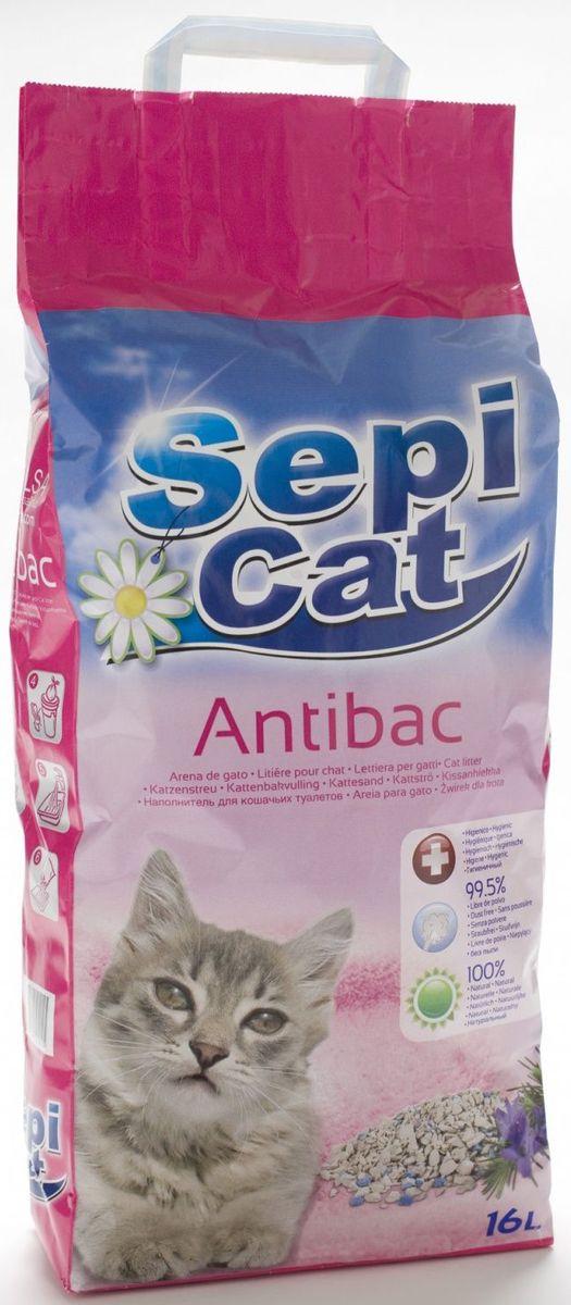Наполнитель для кошачьих туалетов Sepiolsa Антибактериальный, впитывающий, 16 л12171996Экологически чистый антибактериальный впитывающий наполнитель для кошачьего туалета Sepiolsa Антибактериальный изготовлен из 100% натуральных минеральных компонентов. Безопасен для животного и для человека.Инновационная антибактериальная формула обеспечит исключительную гигиеничность лотка, защищая вашего питомца и дом от бактерий.Быстро и эффективно впитывает и удерживает большое количество влаги, надежно поглощает запах, не допускает появления неприятного запаха вновь.Антибактериальные ароматические гранулы активируются при контакте с жидкостью, что обеспечит чистоту и комфорт на продолжительное время. Состав: 100% натуральная глина, антибактериальные добавки.Объем: 16 л.Товар сертифицирован.