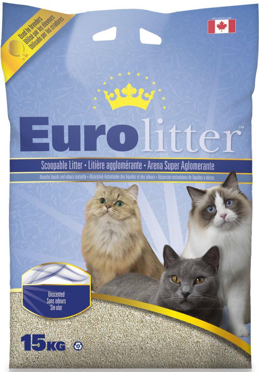 Наполнитель для кошачьих туалетов Eurolitter Контроль запаха, комкующийся, без пыли, с ароматом детской присыпки, 15 кг0120710Eurolitter - высококачественный канадский комкующийся наполнитель без пыли.Комкующийся наполнитель Eurolitter Контроль запаха сделан на основе высококачественной натриевой бентонитовой глины. Структура гранул обладает исключительной способностью моментально образовывать плотный комок при попадании на продукт фекалий животного. Нейтрализует запахи. Обеспечивает абсолютный комфорт как кошке, так и владельцу!Товар сертифицирован.