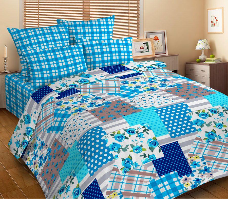 Комплект белья Guten Morgen Пэчворк, 2-спальный, наволочки 69х69FA-5125 WhiteКомплект постельного белья Guten Morgen Пэчворк, изготовленный из микрофибры (100% полиэстер), поможет вам расслабиться и подарит спокойный сон. Комплект состоит из пододеяльника, простыни и двух наволочек.Благодаря такому комплекту постельного белья вы сможете создать атмосферу уюта и комфорта в вашей спальне. Ткань микрофибра - новая технология в производстве постельного белья. Тонкие волокна, используемые в ткани, производят путем переработки полиамида и полиэстера. Такая нить не впитывает влагу, как хлопок, а пропускает ее через себя, и влага быстро испаряется. Изделие не деформируется и хорошо держит форму.
