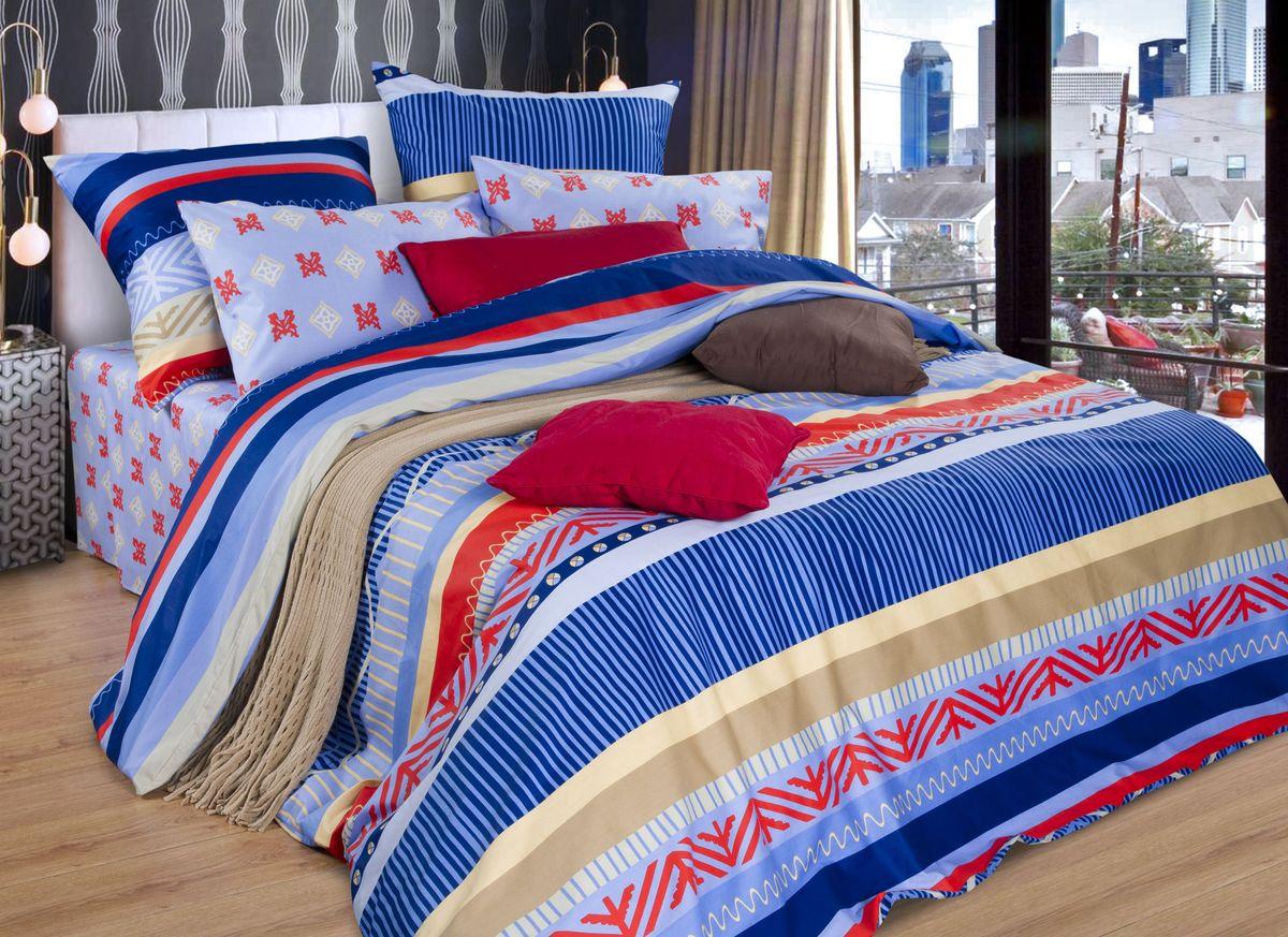 Комплект белья Guten Morgen, 1,5-спальный, наволочки 70х70. А-726-143-150-7098299571Комплект постельного белья Guten Morgen, изготовленный из набивного сатина (100% хлопка), являющегося экологически чистым продуктом, поможет вам расслабиться и подарит спокойный сон. Комплект состоит из пододеяльника, простыни и двух наволочек. Постельное белье имеет и привлекающий внешний вид. Благодаря такому комплекту постельного белья вы сможете создать атмосферу уюта и комфорта в вашей спальне.