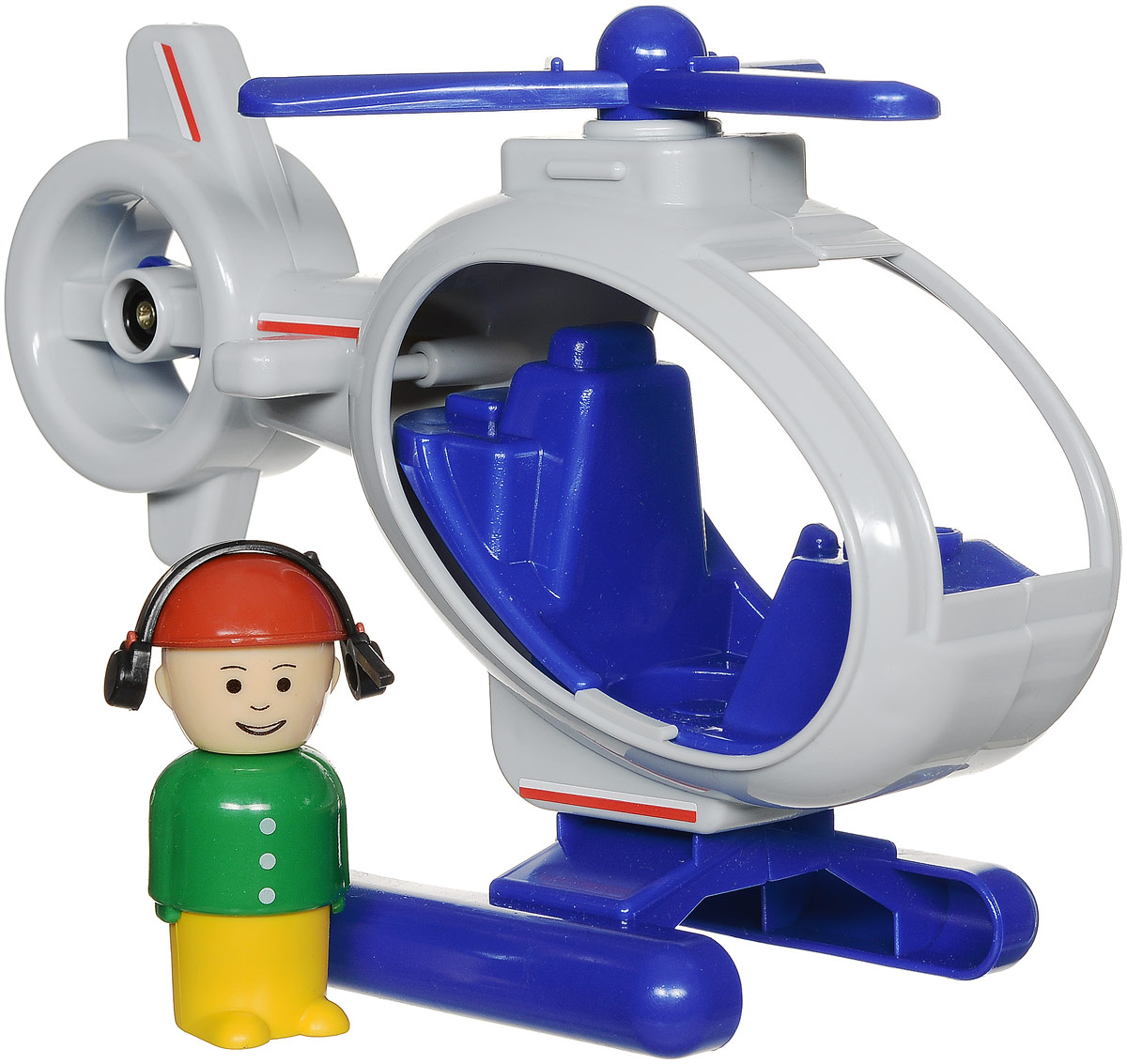 Форма Вертолет Детский сад цвет светло-серый