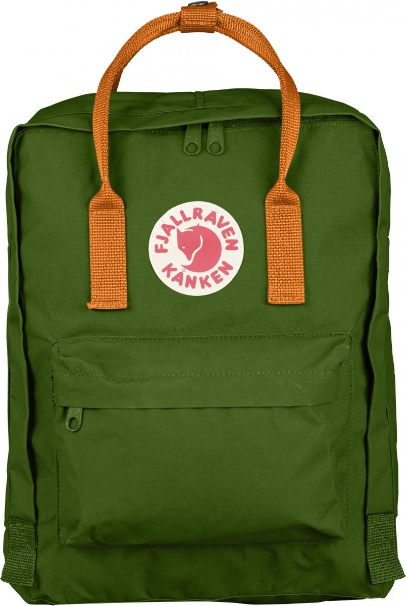 Рюкзак Fjallraven  Kanken , цвет: зеленый, 16 л - Рюкзаки