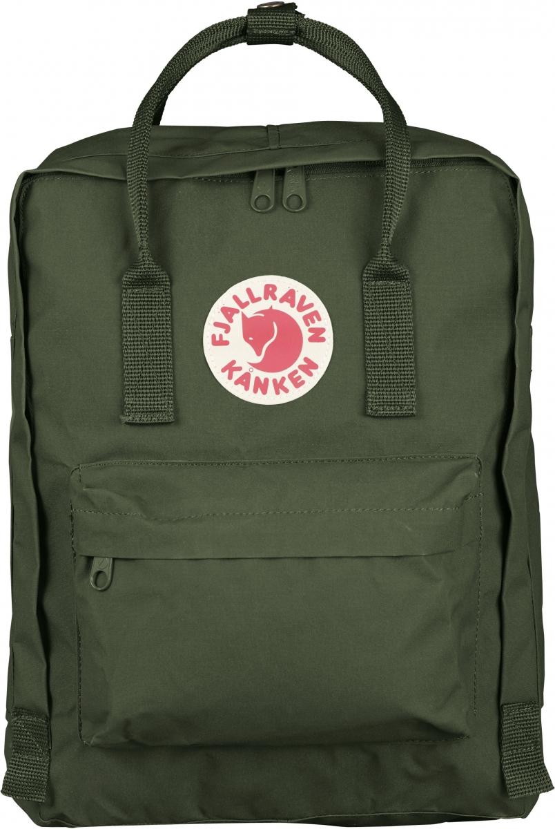 Рюкзак Fjallraven  Kanken , цвет: темно-зеленый, 16 л - Рюкзаки