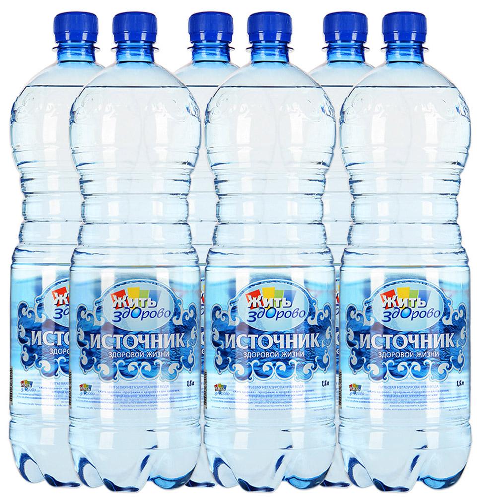 Источник здоровой жизни питьевая вода негазированная, 1,5 л5060295130016Источник здоровой жизни - единственная питьевая вода, одобренная экспертами программы Жить здорово. Жить здорово - программа о здоровье и для здоровья, которой доверяют миллионы россиян!Полезные рекомендации помогают избежать различных недугов и правильно организовать профилактику многих заболеваний. Экспертами Жить здорово являются ведущие специалисты в области медицины: педиатры, иммунологи, неврологи, кардиологи, мануальные терапевты и другие.Вода важнее, чем еда! Качество питьевой воды, которую мы используем каждый день, имеет огромное значение для здоровья - Эксперты Жить здорово.Источник здоровой жизни - питьевая вода, которая оптимально сбалансирована самой природой. Она прекрасно утоляет жажду, освежает, очищает, наполняет энергией. Вода выводит из организма шлаки, помогает сбросить лишний вес, улучшает общее состояние.Производитель со всей ответственностью относится к вашему здоровью и заботится о здоровье вашей семьи. Именно поэтому он обеспечивает вас чистой питьевой водой.Мы помогаем людям быть здоровыми!
