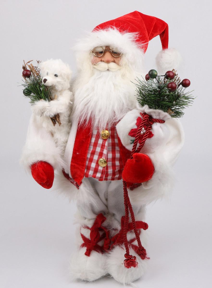 Кукла ESTRO, цвет: красный, диаметр 30 см. C21-121168DKMB-03Кукла создана вручную, неповторима и оригинальна. Порадуйте своих друзей и близких этим замечательным подарком!