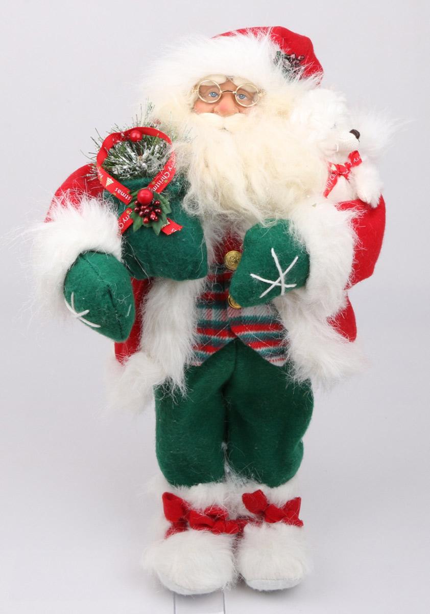Кукла ESTRO, цвет: красный, диаметр 45 см. C21-181104CD-13Кукла создана вручную, неповторима и оригинальна. Порадуйте своих друзей и близких этим замечательным подарком!