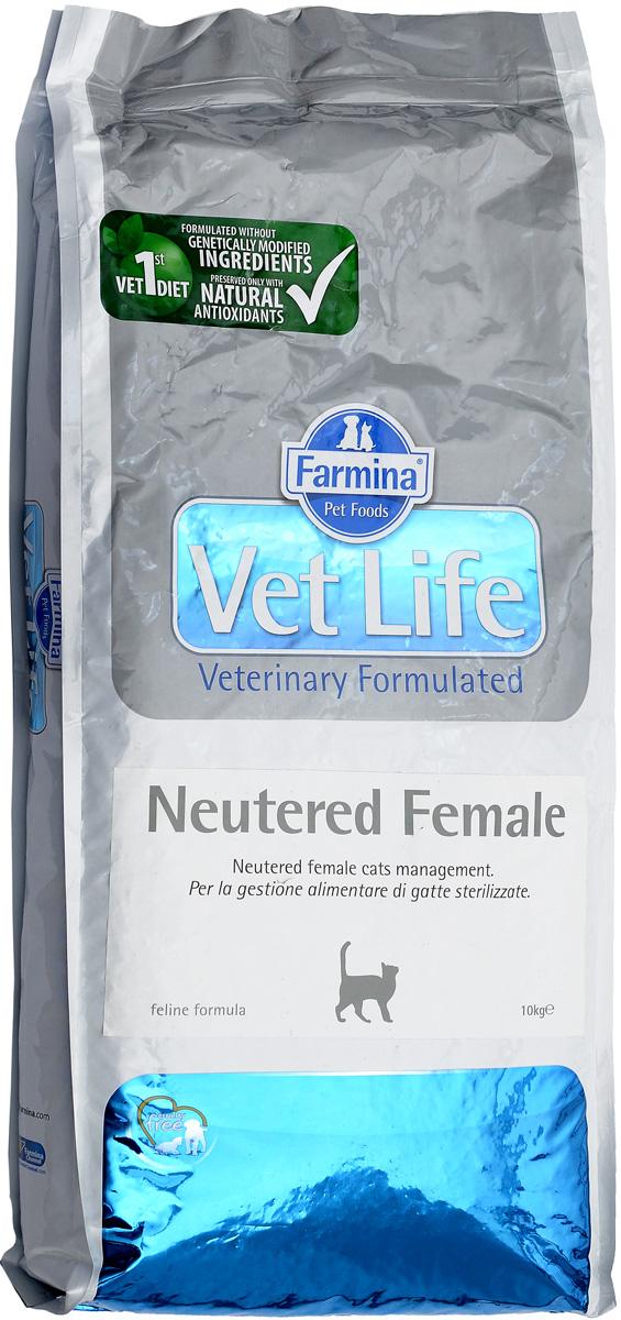 Корм сухой Farmina Vet Life для стерилизованных кошек, диетический, 10 кг0400Сухой корм Farmina Vet Life - это диетическое полнорационное и сбалансированное питание для взрослых кастрированных кошек.Сниженная энергетическая плотность продукта ограничивает риск развития ожирения. Высокая биологическая ценность белков и L-карнитин способствуют поддержанию мышечной массы и использованию запасов жиров. Низкое содержание углеводов снижает вероятность развития диабета. Низкое содержание фосфора и магния, а также сульфат кальция снижают риск развития мочекаменной болезни.Товар сертифицирован.