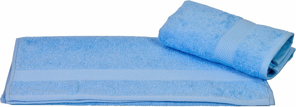 Полотенце Hobby Home Collection Beril, цвет: голубой, 50 х 90 см12723Полотенце Hobby Home Collection Beril выполнено из 100% хлопка. Изделие отлично впитывает влагу, быстро сохнет, сохраняет яркость цвета и не теряет форму даже после многократных стирок. Такое полотенце очень практично и неприхотливо в уходе. А простой, но стильный дизайн полотенца позволит ему вписаться даже в классический интерьер ванной комнаты.