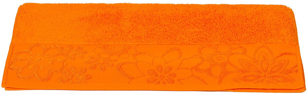 Полотенце Hobby Home Collection Dora, цвет: оранжевый, 100 х 150 см1092019Полотенце Hobby Home Collection Dora выполнено из 100% хлопка. Изделие отлично впитывает влагу, быстро сохнет, сохраняет яркость цвета и не теряет форму даже после многократных стирок. Такое полотенце очень практично и неприхотливо в уходе. А простой, но стильный дизайн полотенца позволит ему вписаться даже в классический интерьер ванной комнаты.