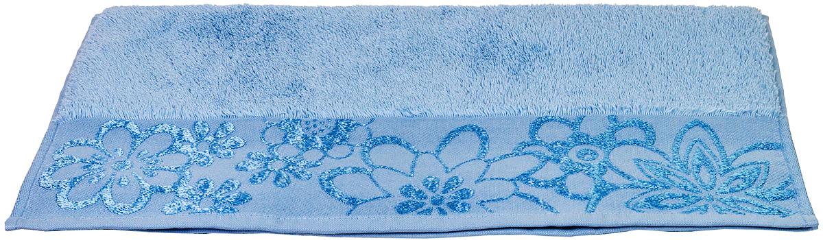 Полотенце Hobby Home Collection Dora, цвет: светло-голубой, 100 х 150 см531-105Полотенце Hobby Home Collection Dora выполнено из 100% хлопка. Изделие отлично впитывает влагу, быстро сохнет, сохраняет яркость цвета и не теряет форму даже после многократных стирок. Такое полотенце очень практично и неприхотливо в уходе. А простой, но стильный дизайн полотенца позволит ему вписаться даже в классический интерьер ванной комнаты.