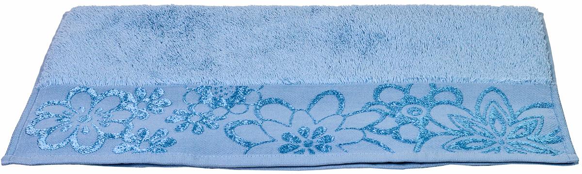 Полотенце Hobby Home Collection Dora, цвет: светло-голубой, 70 х 140 см68/5/1Полотенце Hobby Home Collection Dora выполнено из 100% хлопка. Изделие отлично впитывает влагу, быстро сохнет, сохраняет яркость цвета и не теряет форму даже после многократных стирок. Такое полотенце очень практично и неприхотливо в уходе. А простой, но стильный дизайн полотенца позволит ему вписаться даже в классический интерьер ванной комнаты.