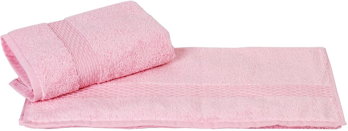 Полотенце Hobby Home Collection Firuze, цвет: розовый, 50 х 90 смS03301004Полотенце Hobby Home Collection Firuze выполнено из 100% хлопка. Изделие отлично впитывает влагу, быстро сохнет, сохраняет яркость цвета и не теряет форму даже после многократных стирок. Такое полотенце очень практично и неприхотливо в уходе. А простой, но стильный дизайн полотенца позволит ему вписаться даже в классический интерьер ванной комнаты.