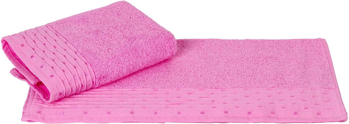 Полотенце Hobby Home Collection Gofre, цвет: розовый, 50 х 90 см68/5/3Полотенце Hobby Home Collection Gofre выполнено из 100% хлопка. Изделие отлично впитывает влагу, быстро сохнет, сохраняет яркость цвета и не теряет форму даже после многократных стирок. Такое полотенце очень практично и неприхотливо в уходе. А простой, но стильный дизайн полотенца позволит ему вписаться даже в классический интерьер ванной комнаты.