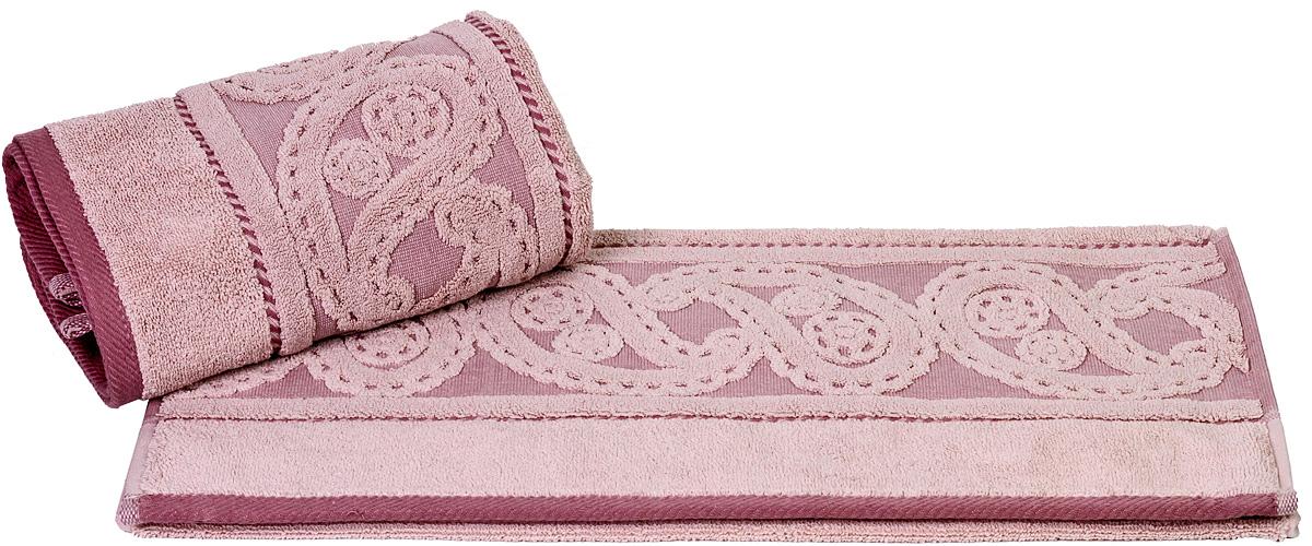 Полотенце Hobby Home Collection Hurrem, цвет: розовый, 50 х 90 см19201Полотенце Hobby Home Collection Hurrem выполнено из 100% хлопка. Изделие отлично впитывает влагу, быстро сохнет, сохраняет яркость цвета и не теряет форму даже после многократных стирок. Такое полотенце очень практично и неприхотливо в уходе. А простой, но стильный дизайн полотенца позволит ему вписаться даже в классический интерьер ванной комнаты.
