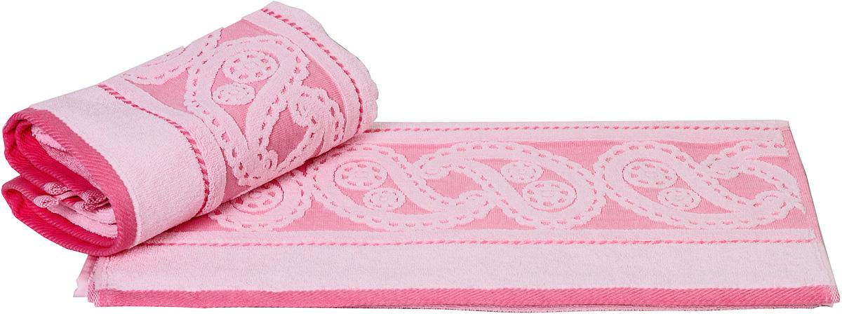 Полотенце Hobby Home Collection Hurrem, цвет: светло-розовый, 50 х 90 см1004900000360Полотенце Hobby Home Collection Hurrem выполнено из 100% хлопка. Изделие отлично впитывает влагу, быстро сохнет, сохраняет яркость цвета и не теряет форму даже после многократных стирок. Такое полотенце очень практично и неприхотливо в уходе. А простой, но стильный дизайн полотенца позволит ему вписаться даже в классический интерьер ванной комнаты.