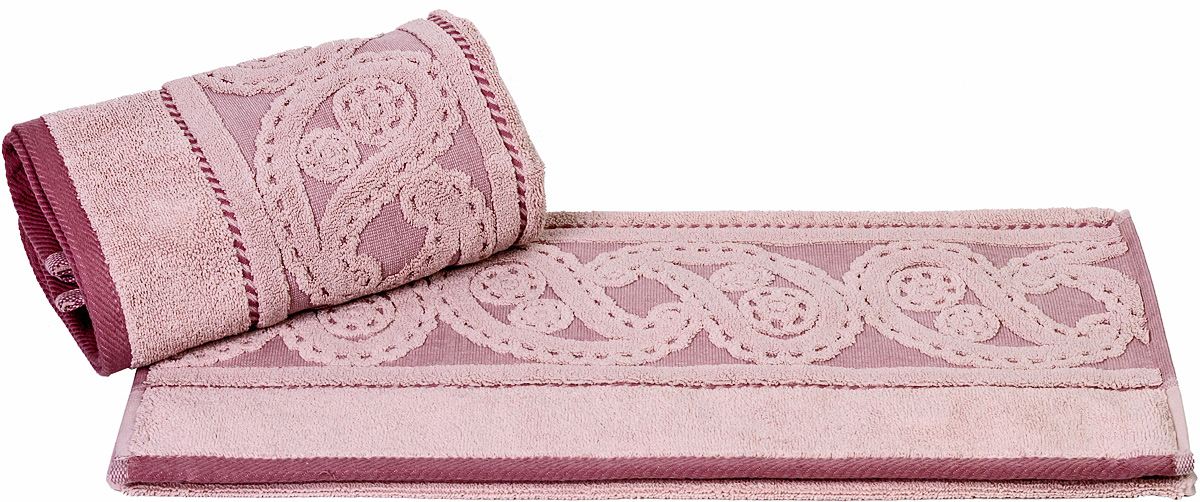 Полотенце Hobby Home Collection Hurrem, цвет: розовый, 70 х 140 см68/5/1Полотенце Hobby Home Collection Hurrem выполнено из 100% хлопка. Изделие отлично впитывает влагу, быстро сохнет, сохраняет яркость цвета и не теряет форму даже после многократных стирок. Такое полотенце очень практично и неприхотливо в уходе. А простой, но стильный дизайн полотенца позволит ему вписаться даже в классический интерьер ванной комнаты.