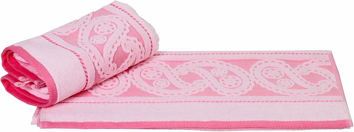 Полотенце Hobby Home Collection Hurrem, цвет: светло-розовый, 70 х 140 см1092019Полотенце Hobby Home Collection Hurrem выполнено из 100% хлопка. Изделие отлично впитывает влагу, быстро сохнет, сохраняет яркость цвета и не теряет форму даже после многократных стирок. Такое полотенце очень практично и неприхотливо в уходе. А простой, но стильный дизайн полотенца позволит ему вписаться даже в классический интерьер ванной комнаты.